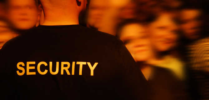 Hire security guards